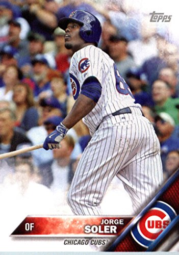 2016 Topps Team Edition Cc 3 Jorge Soler Chicago Cubs Baseball Card In Protective Screwdown Display Case