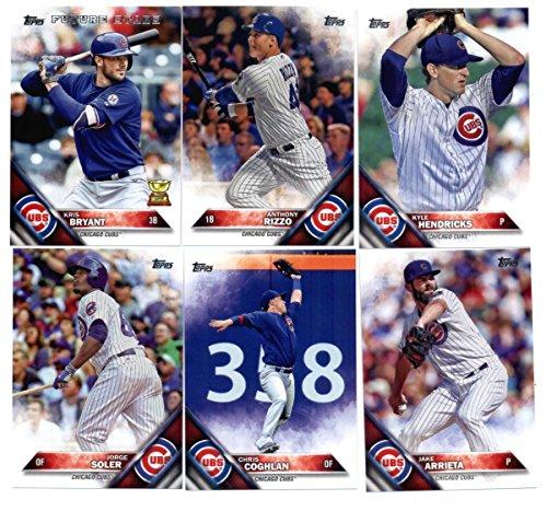 2016 Topps Baseball Master Chicago Cubs Team Set Of 22 Cards With Miguel Montero36 Kyle Schwarber66 Jon Lester151 Jason Hammel153